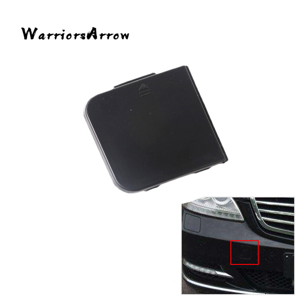 WarriorsArrow Front Bumper Grill Tow Eye Hook Cap Cover Random Color For Mercedes-<font><b>Benz</b></font> <font><b>W220</b></font> S430 <font><b>S500</b></font> S600 S420 S320 2208850323 image