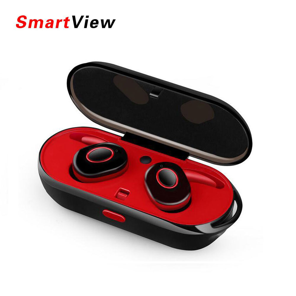 New Style Mini Wireless Bluetooth headphones Earbuds headset Sweat Proof TWINS earphone with charging box for Iphone Xiaomi new dacom carkit mini bluetooth headset wireless earphone mic with usb car charger for iphone airpods android huawei smartphone