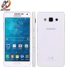 Оригинальный Samsung Galaxy A5 A5000 мобильного телефона 5mp 13.0mp двойной Камера 5.0 дюймов 2 ГБ Оперативная память 16 ГБ Встроенная память 4 ядра dual sim телефон