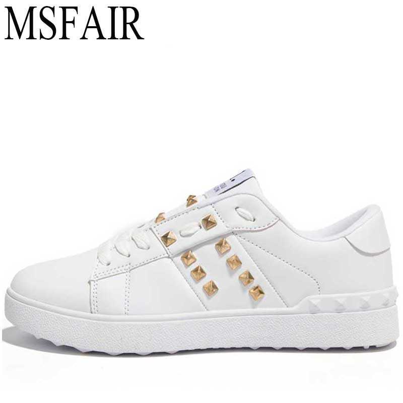 MSFAIR 2018 Mens Skateboarding Shoes Sport Shoes For Men Woman Brand Lovers Flat With Canvas Walking Shoes Womens Sneakers