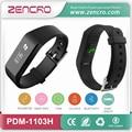 Zencro Manufacturer Smart Step Counter Sleep Monitor Wristband Pulse Heartbeat Tracking Band