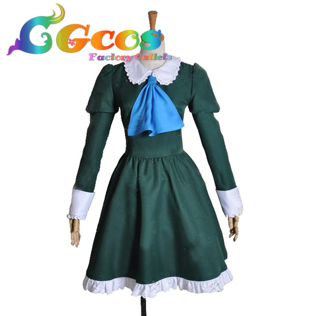 CGCOS Free Shipping Cosplay Costume Ib Mary  New in Stock Retail / Wholesale Halloween Christmas Party Uniform