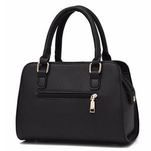 Image 4 - NUOVE donne di marca hardware ornamenti solido totes borsa della signora di alta qualità del partito della borsa di crossbody casuale sacchetti di spalla del messaggero