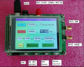 ADF4355 Module Touch Color Screen Sweep RF Signal Source VCO Microwave Frequency Synthesizer PLL