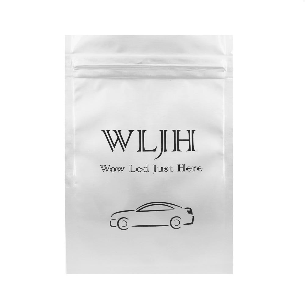 WLJH 2x Canbus LED T10 W5W Avstånd Parkeringsledd bilbelysning för - Bilbelysning - Foto 6