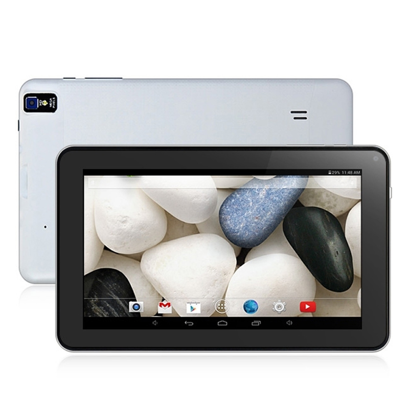 9 pouce Tablet PC Quad Core Android 4.4 Bluetooth HDMI Wifi ROM 8 gb DDR III Double Caméra 800*480 pxl
