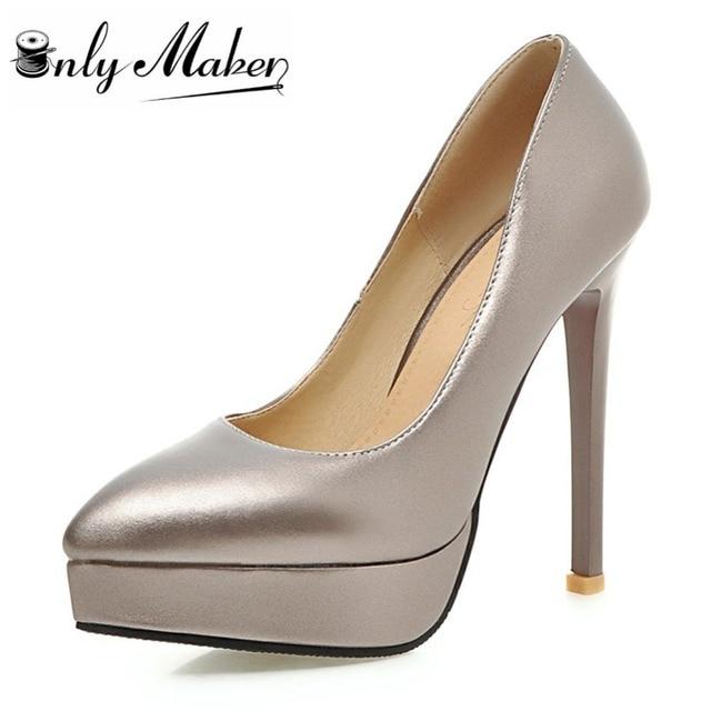ddf9e533146a53 De Cm Rouge Pompes Chaussures 13 Bas À Onlymaker Talons Hauts Femmes  QrhdCstx