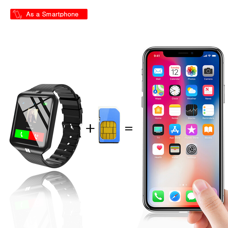 HTB1ufeiXdfvK1RjSszhq6AcGFXae - Stylish Smartwatch with Bluetooth SIM TF Card Slot and Camera