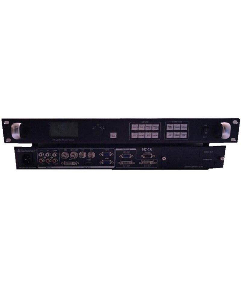 10+ Bit LIGHTALL LVP615S 2*CVBS ,1*DVI ,1*HDMI ,2*VGA ,1*SDI ,1*EXT  2305 X 1152 2 LED Transmission Cards LED Video Processor