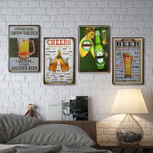 Another Beer Vintage Tin Sign Bar Pub Home Wall Decor Retro Metal Art Beer Coffee Poster Plate