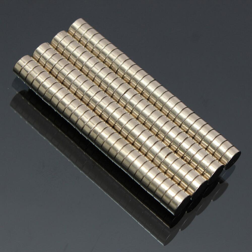 100Pcs 5x2 Neodymium Magnet Permanent N52 NdFeB Super Strong Powerful Small Round Magnetic Magnets Disc 5mm x 2mm in Magnetic Materials from Home Improvement