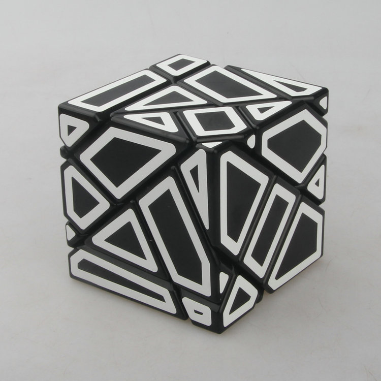 FangCun Ghost Cube Magic Cube 3x3 Puzzle Hollow Speed Cube Special Toys