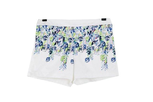 2016 mujeres del verano ocasionales delgados de los cortocircuitos impreso Floral elegante del todo fósforo Comfy Shorts recién llegado EA6286
