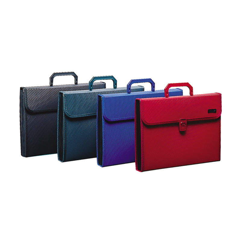 ФОТО office stationery A4 12 layers 13 pockets expanding file with handle