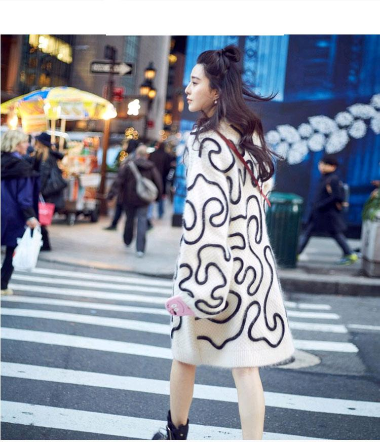 Blanc Couleur Nouvelle Taille white Getsring O Correspondant 2018 Chandail Casual Mode Personnalité Grande Longue cou Sexy Femmes Femme Blakc Black OHItq