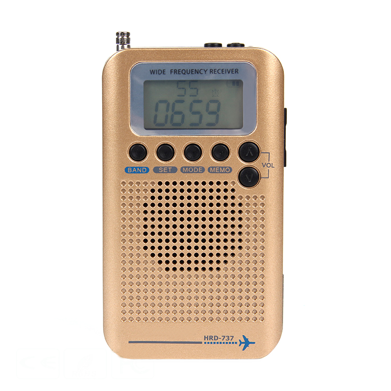 Full Band Radio Digital Demodulator FM AM SW CB Air VHF World Band Stereo Portable Radio