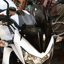 Ветровое стекло для мотоцикла, с кронштейном, высокое качество, для Kawasaki Z750 Z750R Z 750 2007-2008-2009-2010-2011-2012