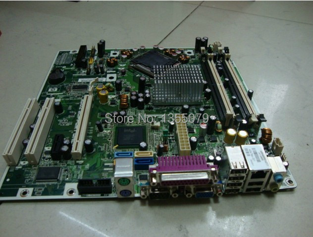 For 404794-001 / 404166-001 System Board For DC5700 Q963 Desktop Motherboard Integrated BTX DDR3 LGA775