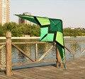 Envío de la alta calidad 2.5 m fuerte línea dual truco cometas parafoil kite línea de la cometa bicicleta idea para regalo hcxkites