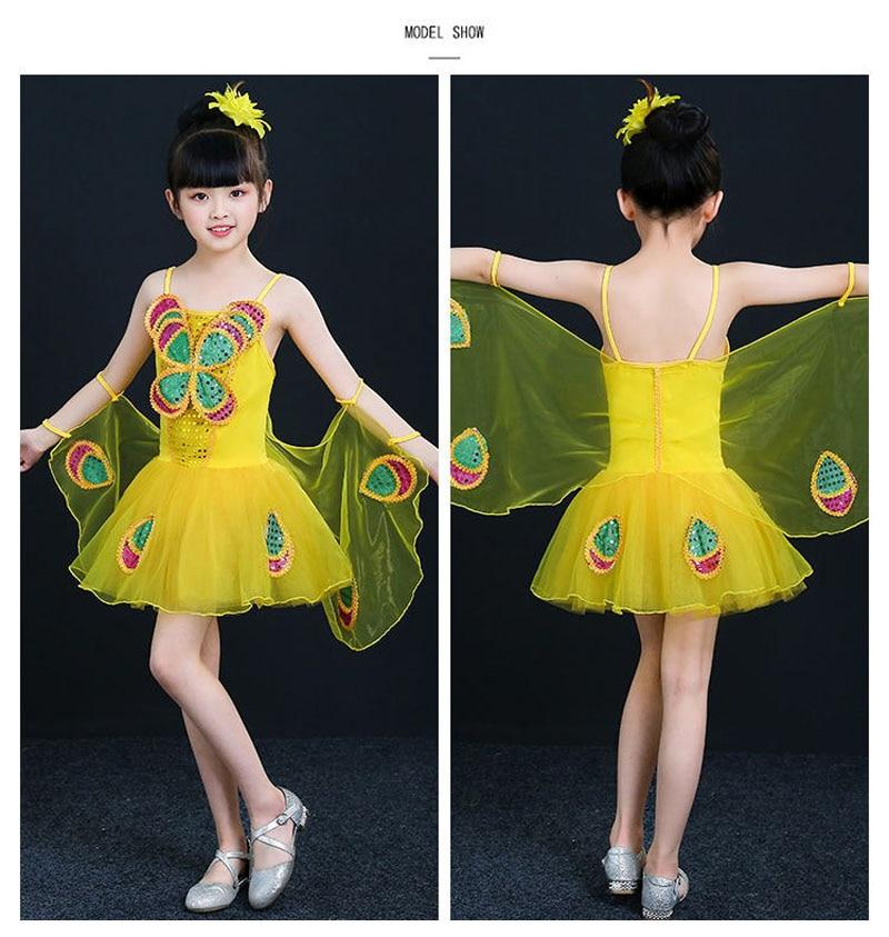 90 cm - 150 cm Kostym Barn Flickor Klänningar Kostym Anime Cosplay - Maskeradkläder och utklädnad - Foto 4