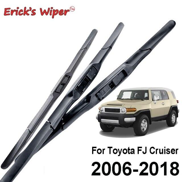 Erick das Palhetas Do Limpador Do Limpador Dianteiro Para Toyota FJ Cruiser 2006-2018 2017 2016 2015 Janela Da Frente Windshield Windscreen