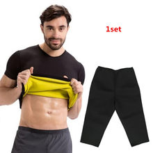 New Shapers Men Thermal Slimming Pants New body Shaper Compression Shirt Slimming Shirt Women Shaper Corset Corset Waist Trimmer(China)