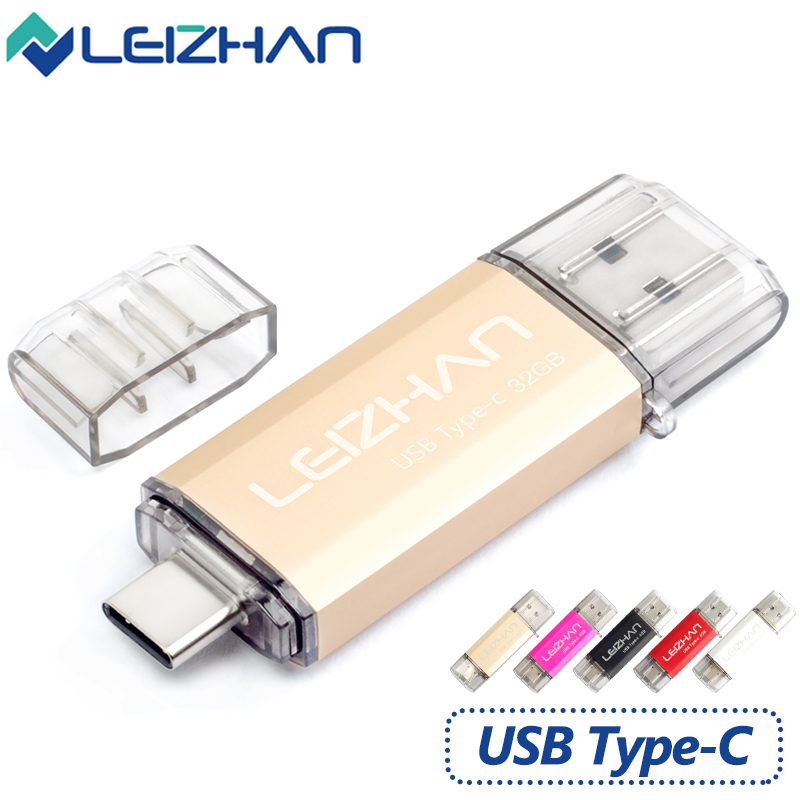 leizhan android 3 1 type c usb flash drive memory stick. Black Bedroom Furniture Sets. Home Design Ideas
