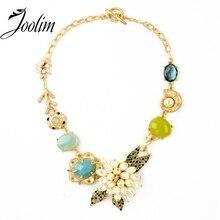 Ювелирные изделия joolim оптом/ роскошный цветок себе Чокеры Ожерелье Дизайнерские Ювелирные изделия