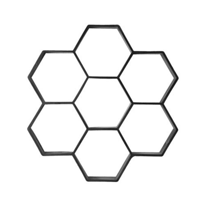 Haus & Garten Sammlung Hier Garten Pflaster Form Diy Manuell Pflaster Zement Ziegel Stein Road Beton Form Hexagon Pfad Spaziergang Pflaster Beton Mould Das Ganze System StäRken Und StäRken