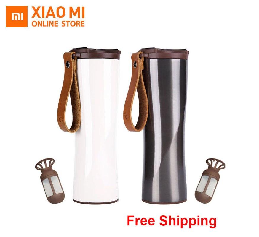 Xiaomi Kisskissfish Moka tasse à café intelligente en acier inoxydable bouteille d'eau sous vide thermique App Rmote contrôle capteur de température sensible