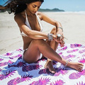 2017 nova mulheres rodada cachecol bandana da índia protótipo de toalhas de praia protetor solar xale de franjas pashmina summer beach essencial