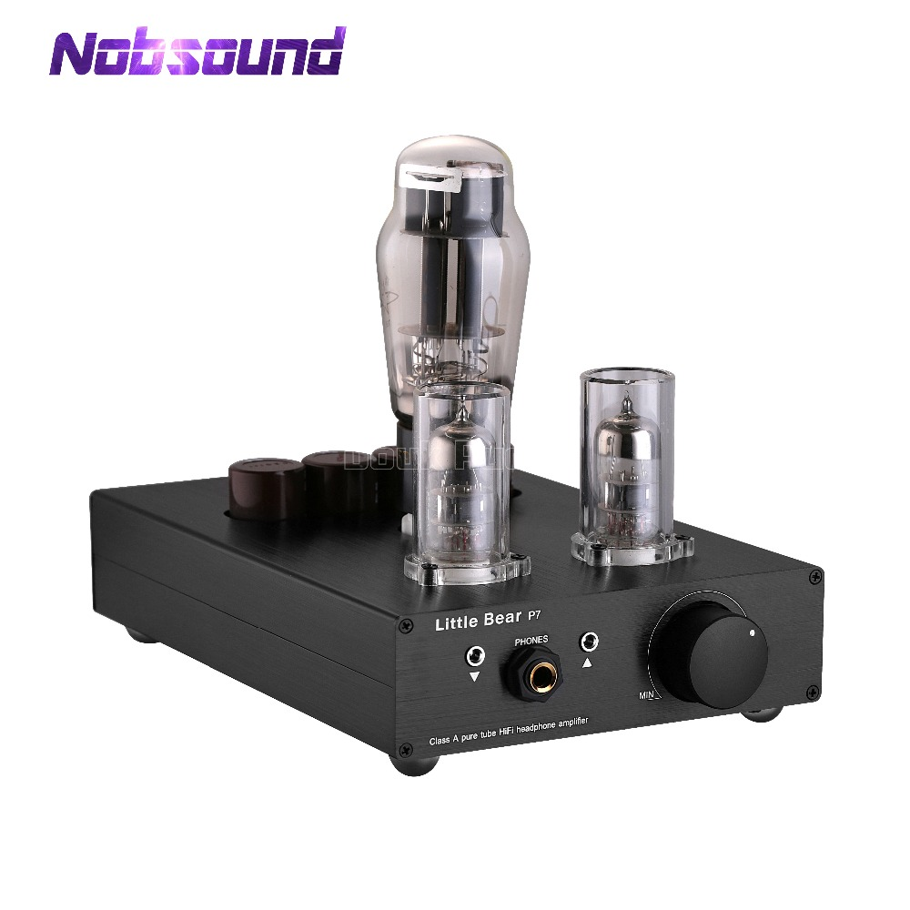 все цены на Nobsound Little Bear P7 Stereo Class A SRPP 6N5P+6N3 Vacuum Tube Amplifier Hi-Fi Audio Preamp Tube Headphone Amp
