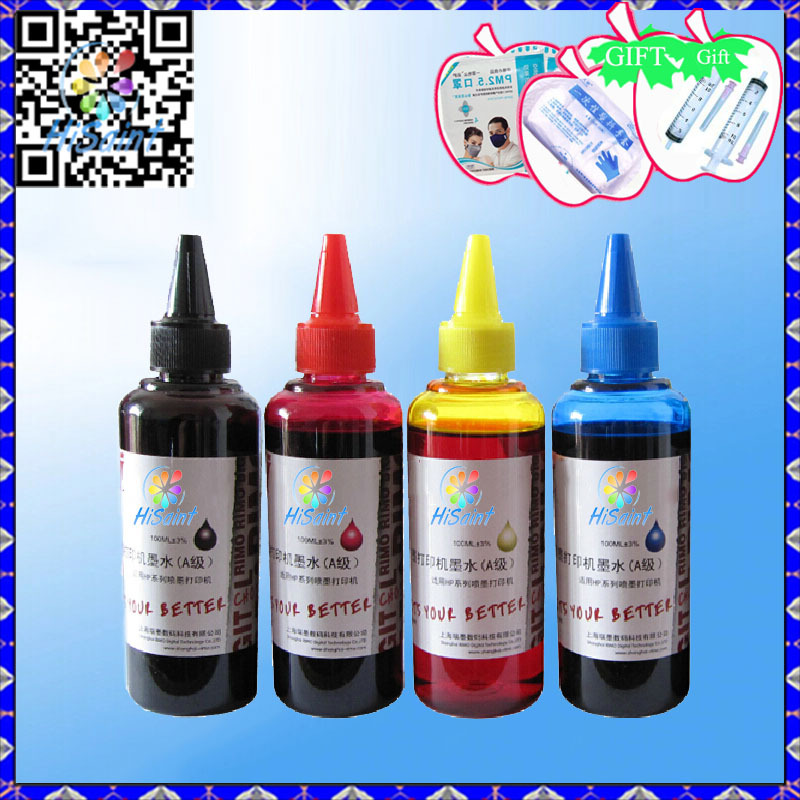 Universal 4 Color + 100ML ink For Samsung Plgment General For ...