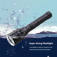 VastFire 1000 Lm 3X XM L2 Waterproof Flashlight Torch Lantern Underwater 100 m