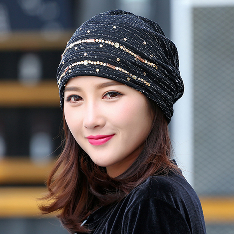 New Pattern Hats Maam Spring And Summer Lace Ventilation Set Head Cap Heap Hat Baotou Confinement Hat Light Head Cap