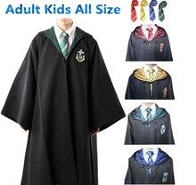 Гриффиндор/слизерин/хаффлпаффец/равенкло кабо поттер гарри одеяние галстук плащ косплей взрослых костюмы детей