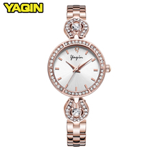2018 women fashion watch Reloj Mujer stainless steel quartz waterproof bracelet Relogio Feminino