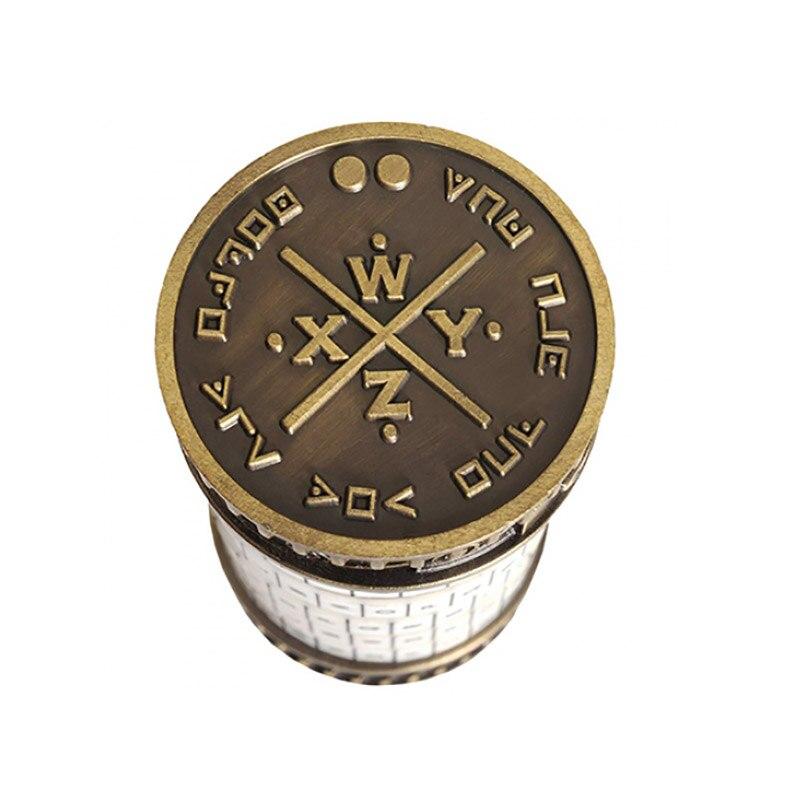 Da Vinci Code serrure éducatifs Puzzle jouets Cryptex serrures lettre mot de passe évasion chambre accessoires Mini jouet pour saint valentin cadeau - 3
