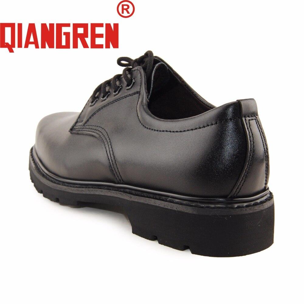 Hombre Stiefel Marke Echte Frühjahr Zapatos Schuhe Arbeitssicherheit Offizier Taktische männer Leder 0QIANGREN in Ausbildung Military US128 Herbst kXiOTPuwZ