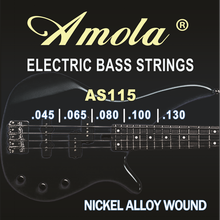 цена на 14077 4- Electric Bass guitar strings musical instruments guitar parts accessories wholesale
