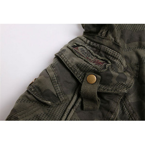 Image 4 - Мужские хлопковые военные мульти карманные утилитарные повседневные просторные брюки карго полной длины для улицы, Рабочие камуфляжные штаны, Размеры 30   38