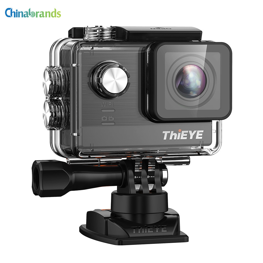 Sport & Action-videokameras Action Kamera Hd 4 Karat 30fps Fernbedienung Wifi 170 Grad Weitwinkel Kompatibel Externes Mikrofon Wasserdicht 30 Mt Sport Kamera Unterhaltungselektronik