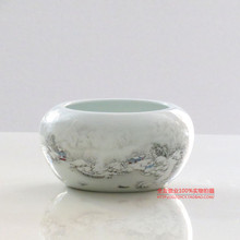 Special offer of Jingdezhen ceramics shallow snow is the modern minimalist decor decoration Home Furnishing crafts gifts