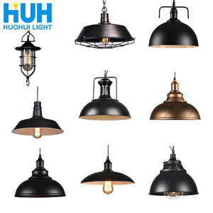Image 1 - Vintage pendant lights industrial Loft lamp E27 Nordic Restaurant Kitchen light Night Light lamp Loft bar Living room lamp