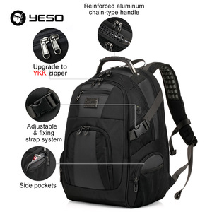 Image 3 - YESO Large Capacity Laptop Backpack Men Multifunction Waterproof 15.6inch Backpack For Teenagers Business Casual Travel Backpack