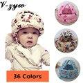 Moda Unissex Cabeça Protetora Tampas Adereços Para A Fotografia Crianças Acessórios Chapéu Do Bebê das Crianças Capacete de Segurança Para Bebês