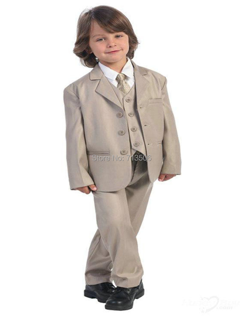 2018 Tailor Made Royal Solid Inexpensive Boy Suit Dress Boys