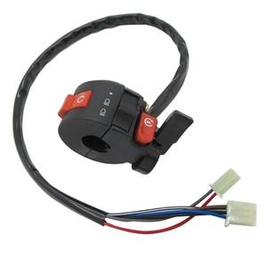 Image 1 - 22mm Left Handlebar Kill Control Choke SwitchKill Light Starter Choke Switch Assembly for 50cc 70cc 90cc 110cc 125cc ATV Quad