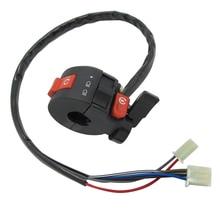 22mm sol gidon öldür kontrol Choke SwitchKill ışık marş Choke anahtar tertibatı için 50cc 70cc 90cc 110cc 125cc ATV Quad
