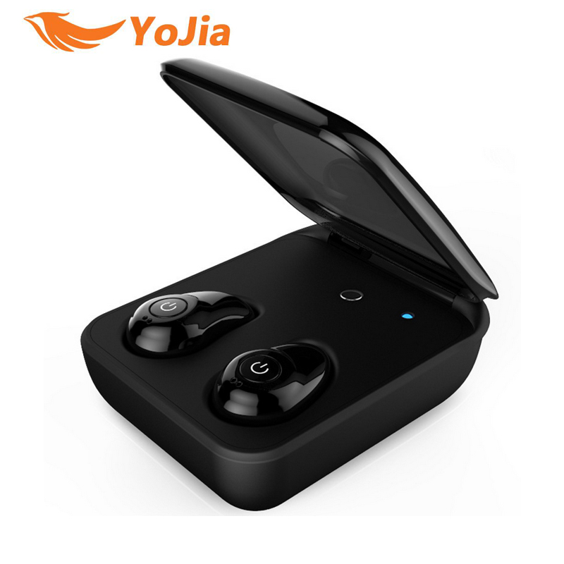 Original VONTAR TWS Earteana True Wireless Bluetooth earphone twins Earbuds portable with charging box For IOS